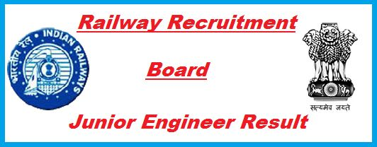RRB Junior Engineer Exam Result 2015 released date Railway Recruitment Board JE how to download check Merit List Cut Off marks rrbappreg.net