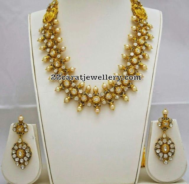 Dull Finish South Sea Pearl Necklace