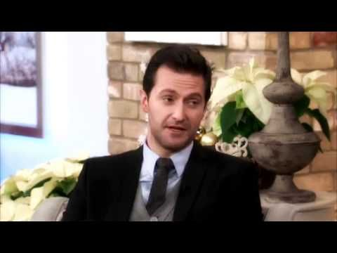 Richard Armitage    bad-tempered and moody? Ha!  Richard speaks about playing characters that are opposite his own personality...thus the moody types...Oh, the bit where he playfully strangles the host is when the host showed a clip of Richard bare chested...  He's embarrassed by that...♥