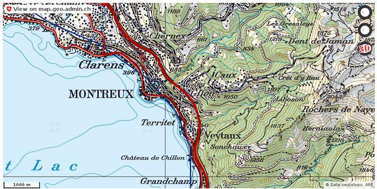 Montreux VD Verkehr Stau Staumeldungen http://ift.tt/2yaz5eh #geodaten #schweiz
