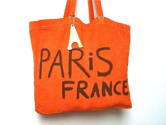 Paris France Shoulder BAG / My Little French by MyLittleFrenchShop, $89.00