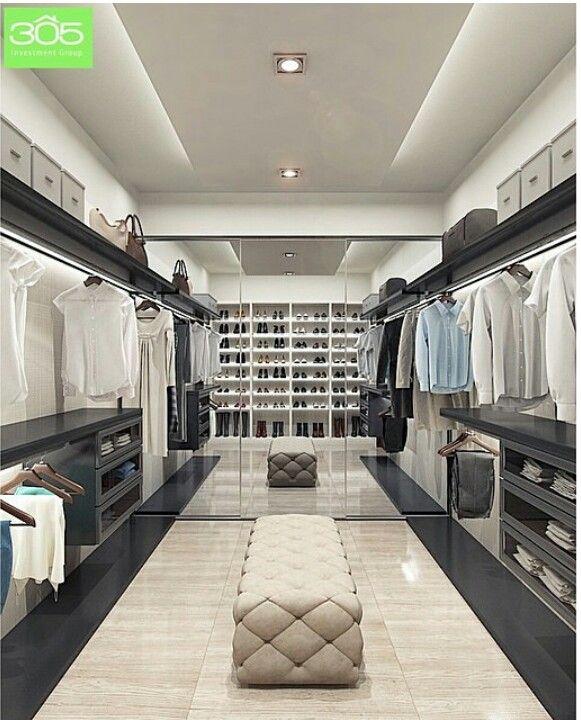Superbe Great His And Her Closet | House Ideas | Walk In Closet, Luxury Closet,  Closet Designs