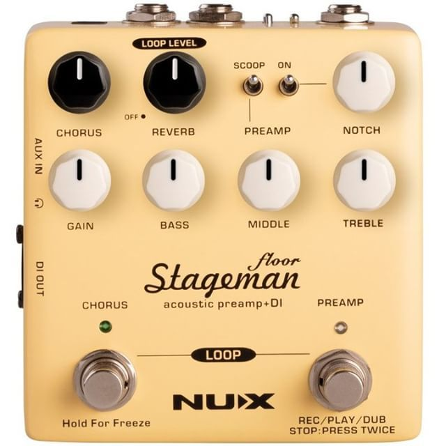 Newly Added Nux Stageman Floor Acoustic Preamp Di Nuxfx Http Bit Ly 2pe86u4 Acoustic Guitar Strings Acoustic Guitar Electro Acoustic Guitar