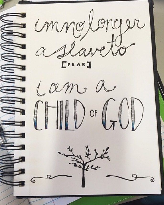 Afbeeldingsresultaat Voor Iu0027m No Longer A Slave To Fear I Am A Child Of God