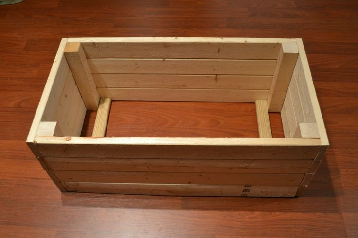 Make your own wooden crates instead of paying for pre-made ones at Michaels