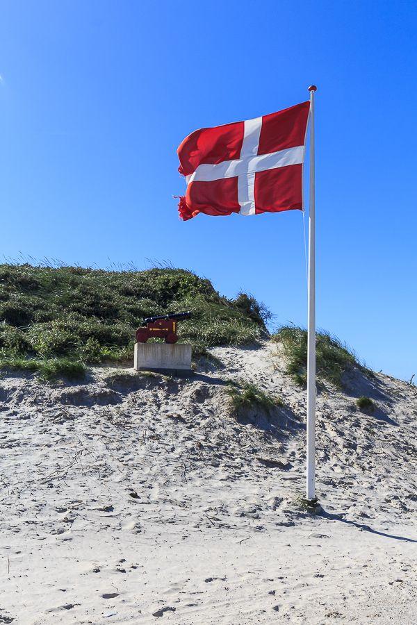 Amalie loves Denmark Sommerurlaubstag in Blokhus, Jammerbucht, Dänemark