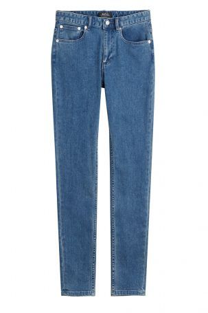 A.P.C. A.P.C. Skinny Jeans aus Baumwolle – Blau