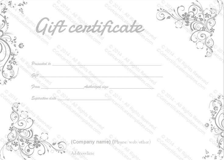 Best 25+ Gift certificate templates ideas on Pinterest