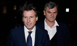 Sebastian Coe's aide among IAAF staff members banned over alleged bribe | Sport | The Guardian