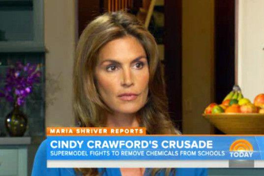 Cindy Crawford's Chemical Crusade