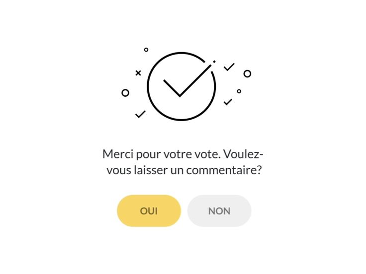 Hello Dribblers! I present to you the animation voting screen. This mobile application with voting function. After the vote, the application offers to leave a comment. Stay connected. Press L for L...