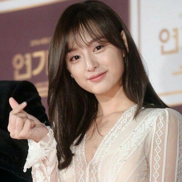 The Goddess on KBS drama award #ilovekimjiwonsomuch 😘