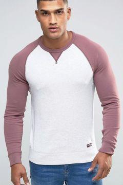 Abercrombie & Fitch Sweatshirt Contrast Sleeves in Grey - Grey #modasto #giyim #erkek https://modasto.com/abercrombie-fitch/erkek/br21370ct59