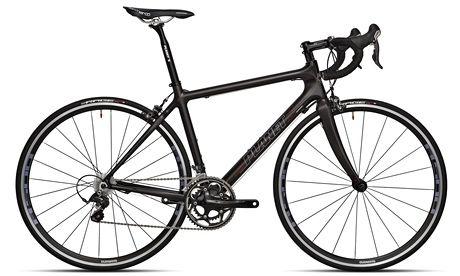 Dark star: the clean lines of Planet X's multi-award winning carbon road bike.