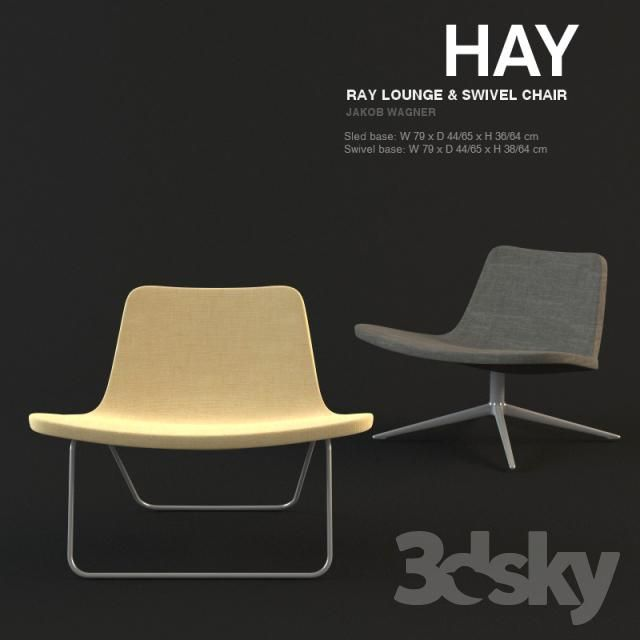 HAY Ray Lounge Chair - Jakob Wagner