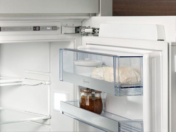 Neff Kühlschrank Side By Side : Das praktische butterfach von neff hört auf slide&hide® und ist voll