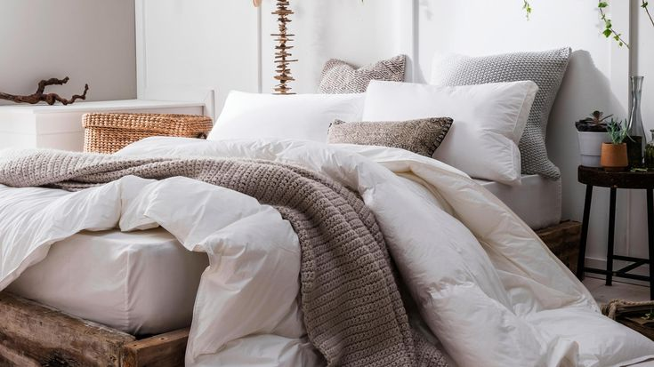 The Pearl Smartdown duvet by Nimbus is made from recycled plastic bottles and costs from £129