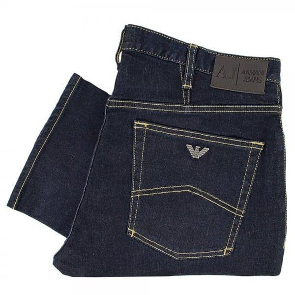 Armani Jeans Shop | J21 Dark Wash Regular Denim Jeans 06J71