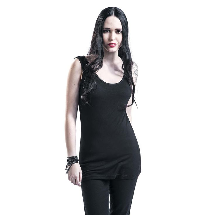 Skull Lace Top Black Premium by EMPToppi (koko xl) 13,99 €