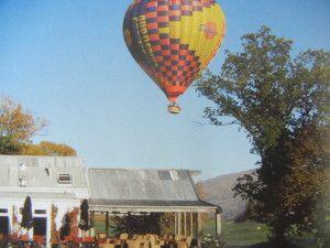 Ballooning at Millbrook Resort