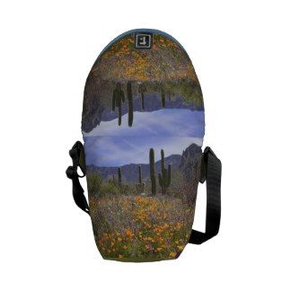 Arizona Spring Wildflowers Messenger Bag