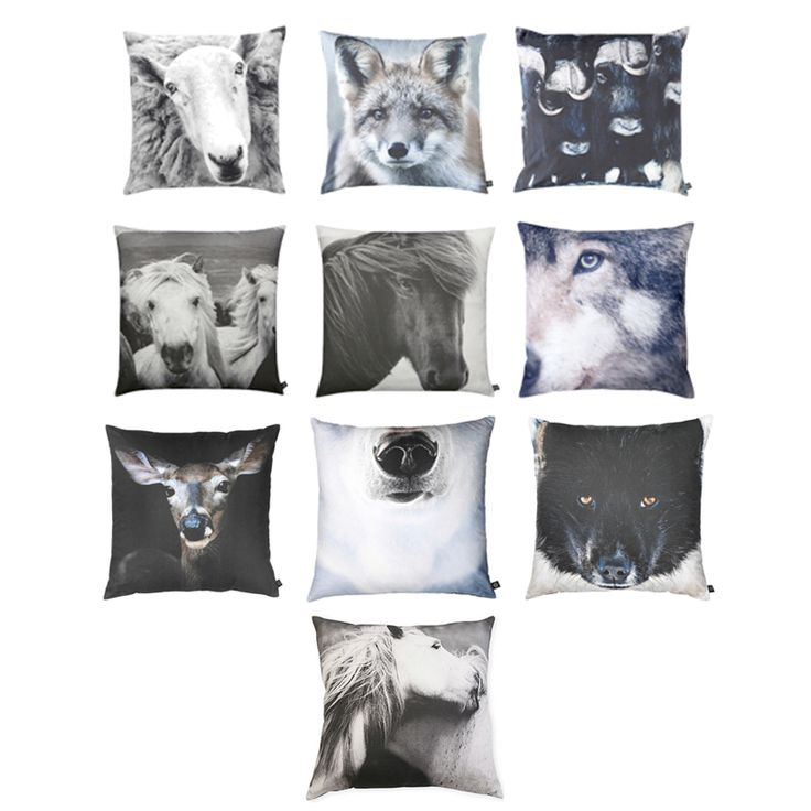 By Nord Animal Print Cushions by: ByNord - Huset-Shop.com | Your. Animal ProjectsBusiness IdeasAnimal ...