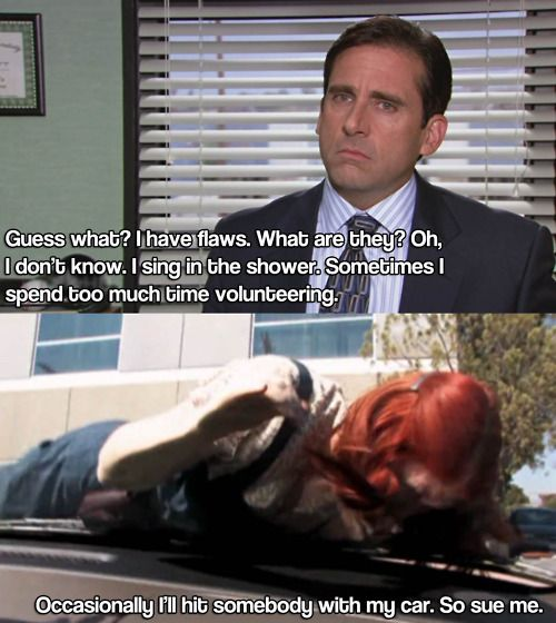 Michael Scott, lol!