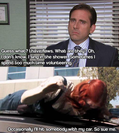 Michael Scott, lol!