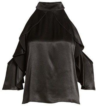 Ella Moss Women's Bianka Cold Shoulder Swing Top