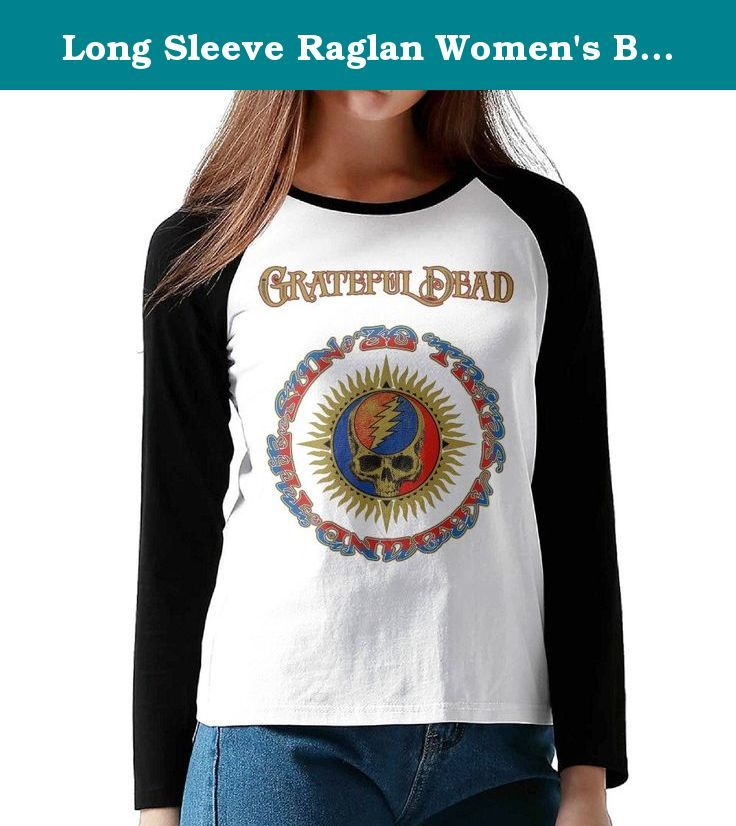 Long Sleeve Raglan Women's Baseball Jersey Tee Shirt 30 Trips Around The Sun Album Grateful Dead. This Is An Awesome Casual Shirt That Is Great To Throw On With Jeans, Leggings Or Sweatpants.