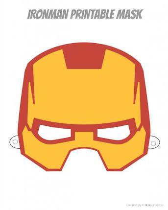 Resultado de imagen para iron man mascara vector