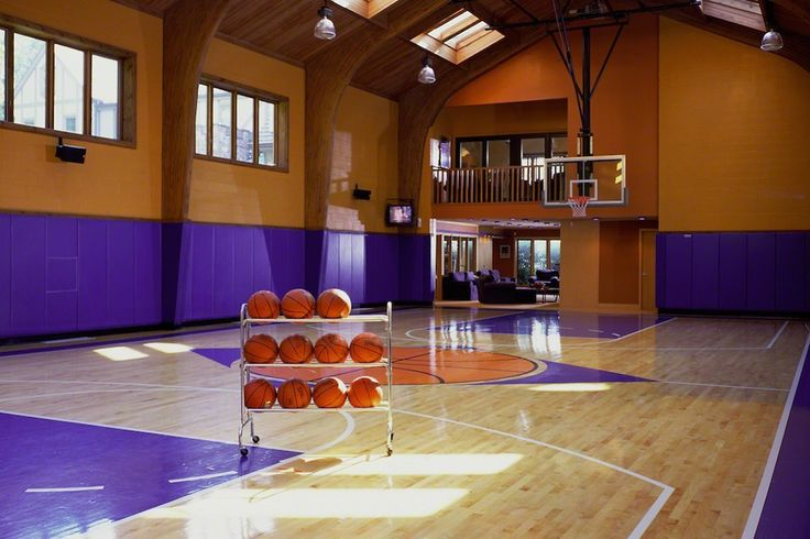 indoor basketball court | Mansion Room by Room | Pinterest ...