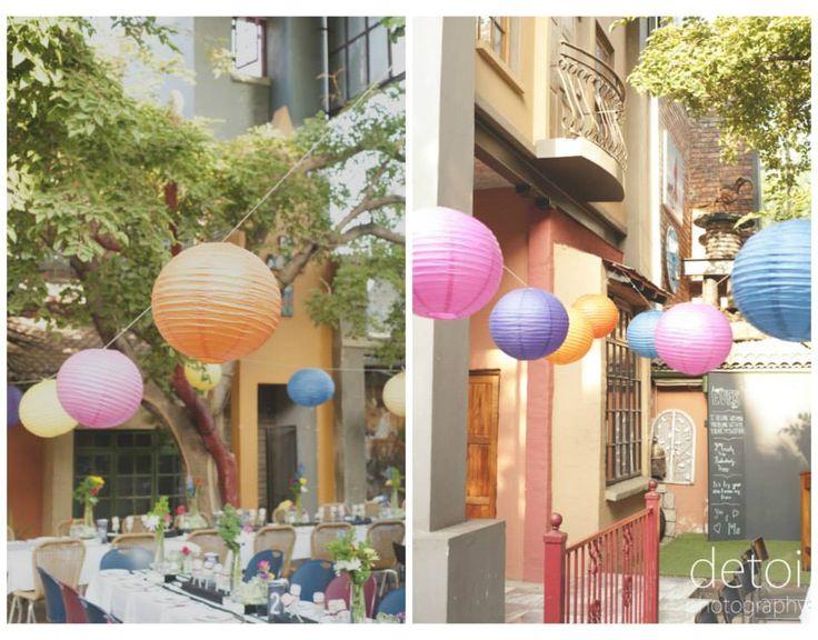 Colour lanterns