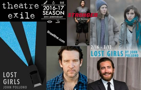 LOST GIRLS @TheatreExile (2/16-3/12) Tinsel & Tine Interview with Actor/Playwright/Screenwriter John Pollono