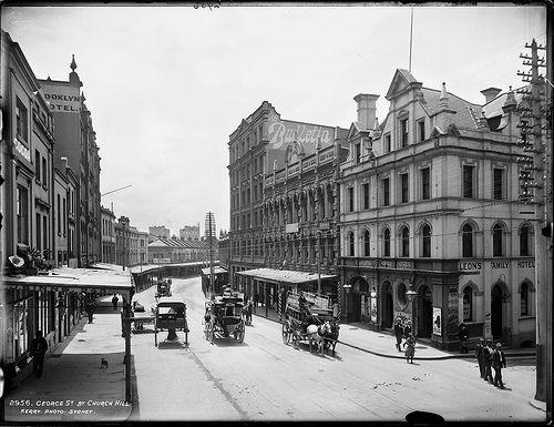 George Street by Church Hill, Sydney