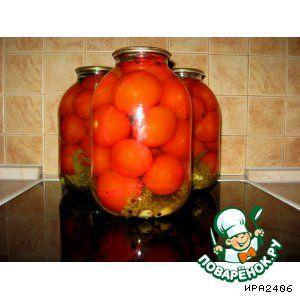 Консервированые помидоры