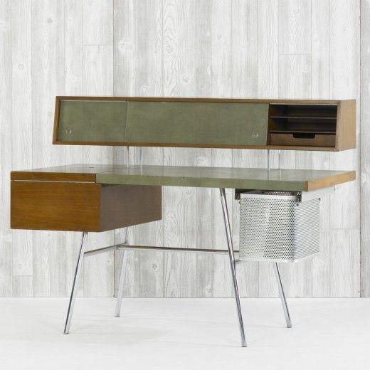 My dream desk. GEORGE NELSON & ASSOCIATES Home Office desk, model 4658 Herman Miller USA, 1946 Sold for $7650