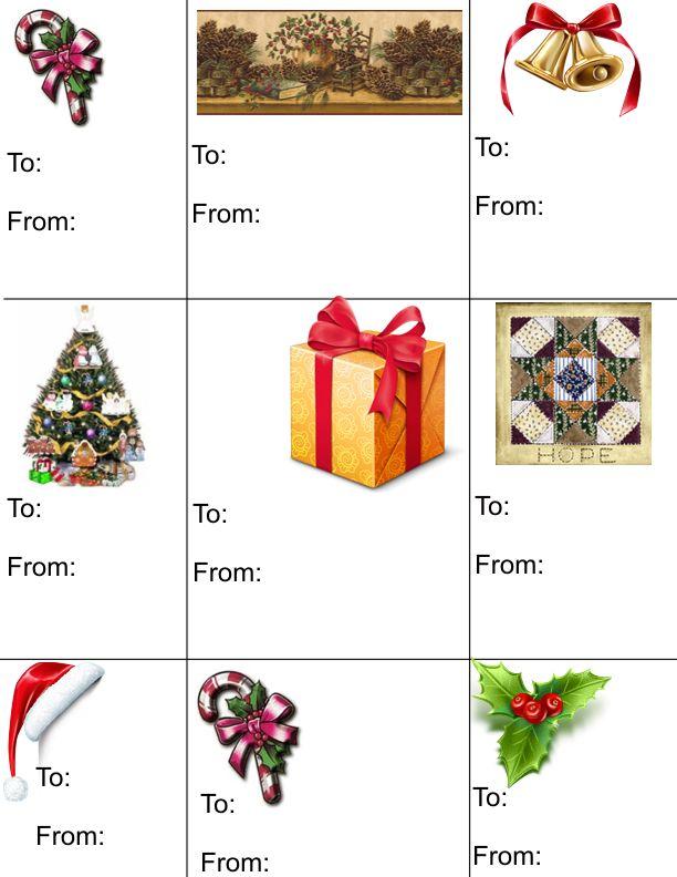 Make your own free christmas gift tags holidays for Make your own christmas gift baskets