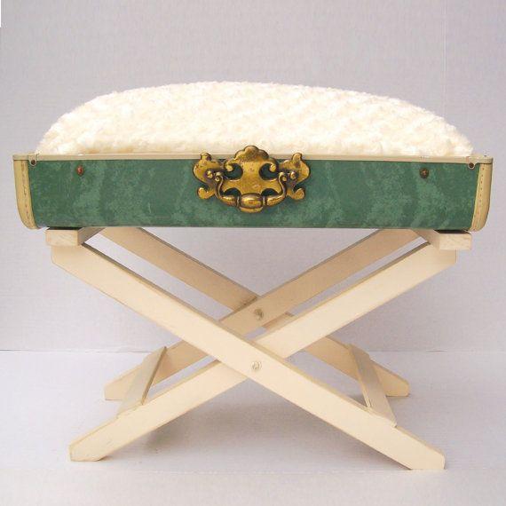 11 best suitcase table images on Pinterest | Vintage ...