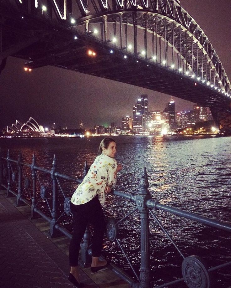 🌃❤️ #goodnight #sydney #by #night #city #view #operahouse #harbourbridge #magic #australia