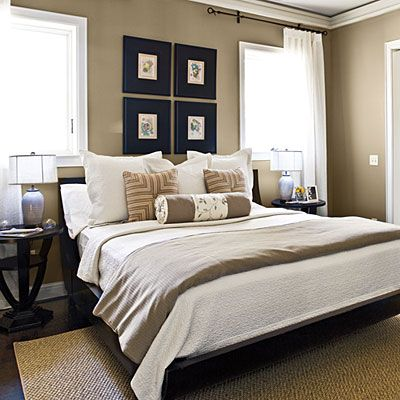 Clean: Wall Colors, Southern Living, Curtains Rods, Master Bedrooms, Colors Schemes, Style Guide, Pictures Frames, Bedrooms Decor Ideas, Bedrooms Ideas
