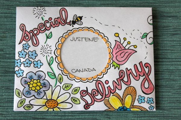Mail Art Decorated Envelopes :)