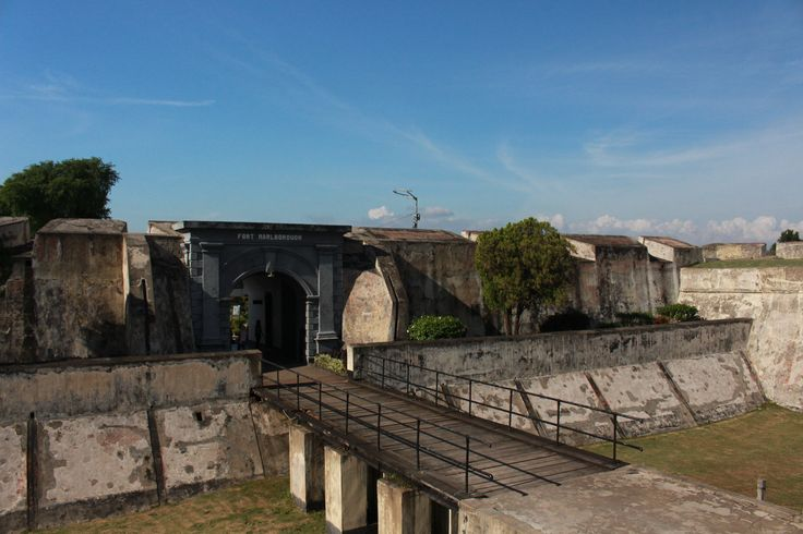 Fort Marlborough, such a cool place to learn a history.