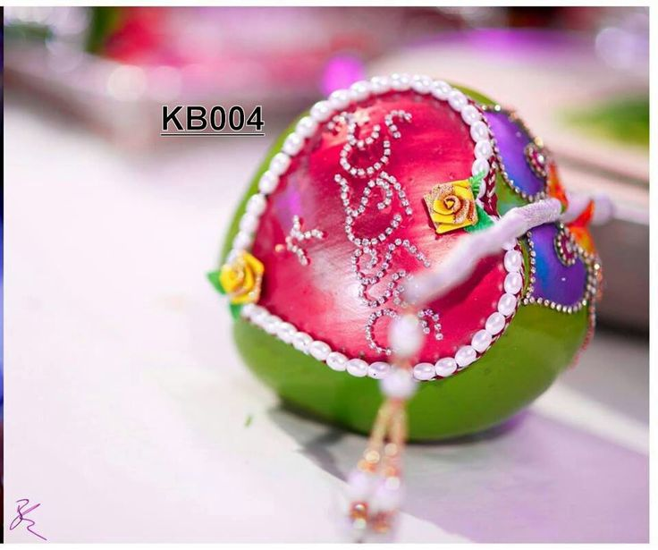 #telugu #wedding #coconut #design
