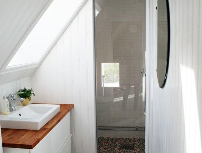 Les 25 meilleures id es de la cat gorie petites salles d 39 eau sur pinterest salle d 39 eau salle - Reactie amenager une petite salle de bain ...