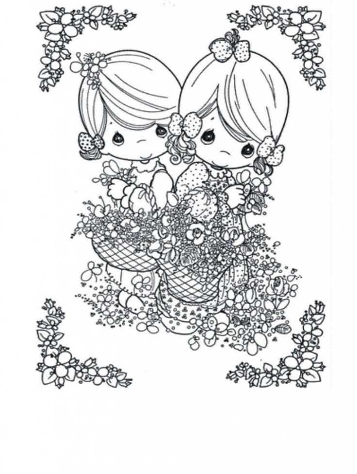 baby precious moments coloring pages baby precious moments