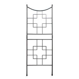 ACHLA Designs�31.5-in W x 86-in H Graphite Transitional Garden Trellis