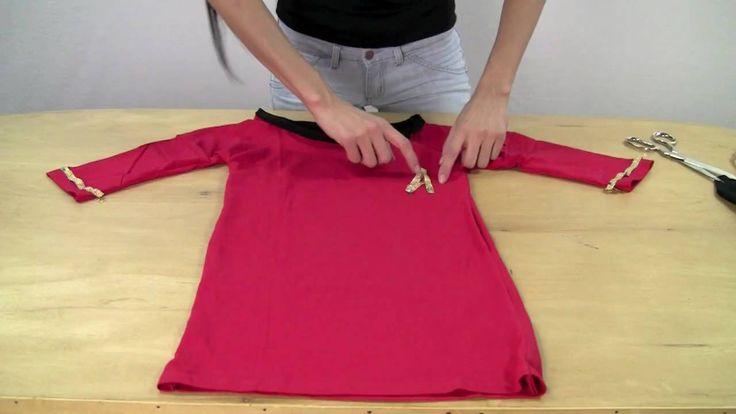 """Star Trek TOS """"skant"""" uniform from a t-shirt."""