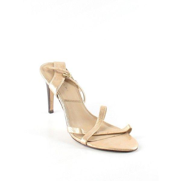 Zapatos dorados formales SEVEN7 para mujer d1GnHcxl