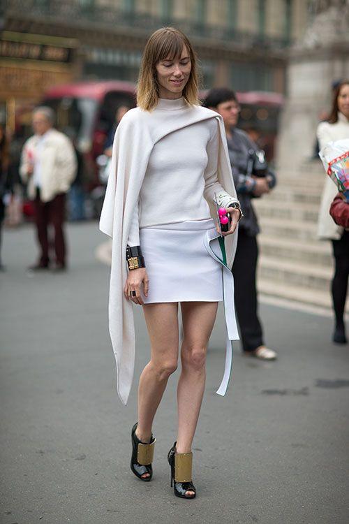 Street Style: Paris Fashion Week Spring 2014 - Anya Ziourova